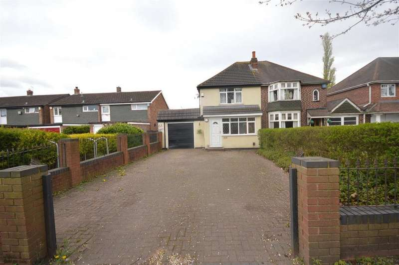 3 Bedrooms Semi Detached House for sale in Chester Road, Castle Bromwich, Birmingham