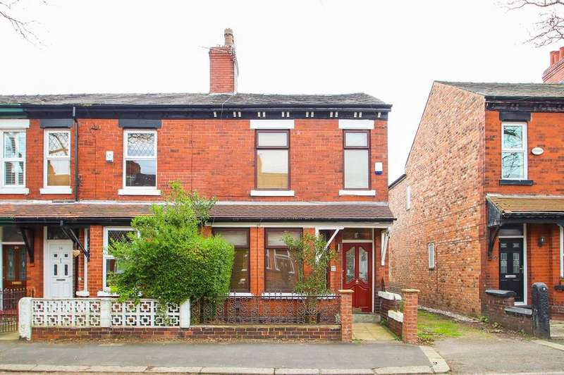 3 Bedrooms End Of Terrace House for sale in Delamere Road, Flixton, Manchester, M41