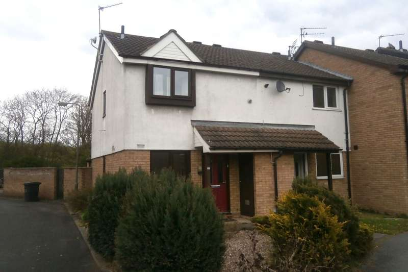 2 Bedrooms Semi Detached House for sale in Pym Leys, Long Eaton, Nottingham, NG10