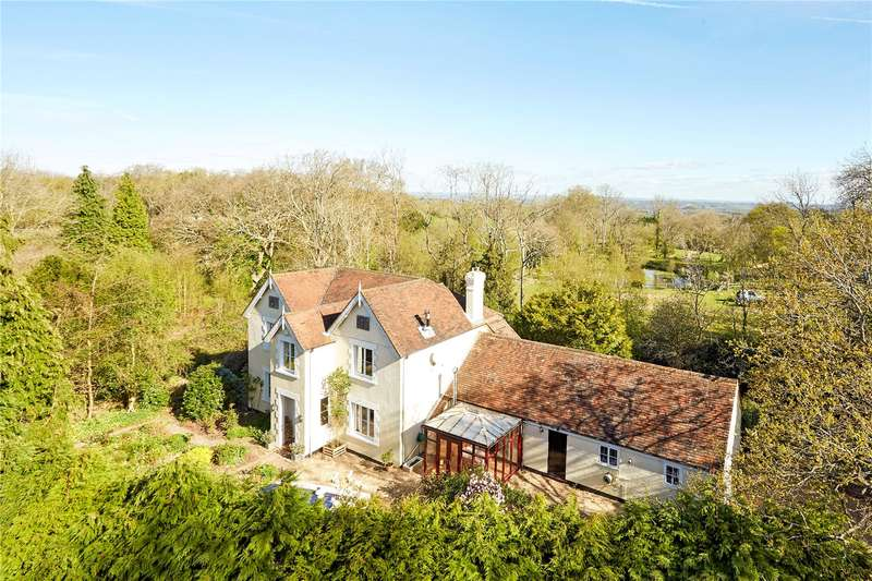 4 Bedrooms Detached House for sale in Steel Cross, Eridge Road, Crowborough, East Sussex, TN6