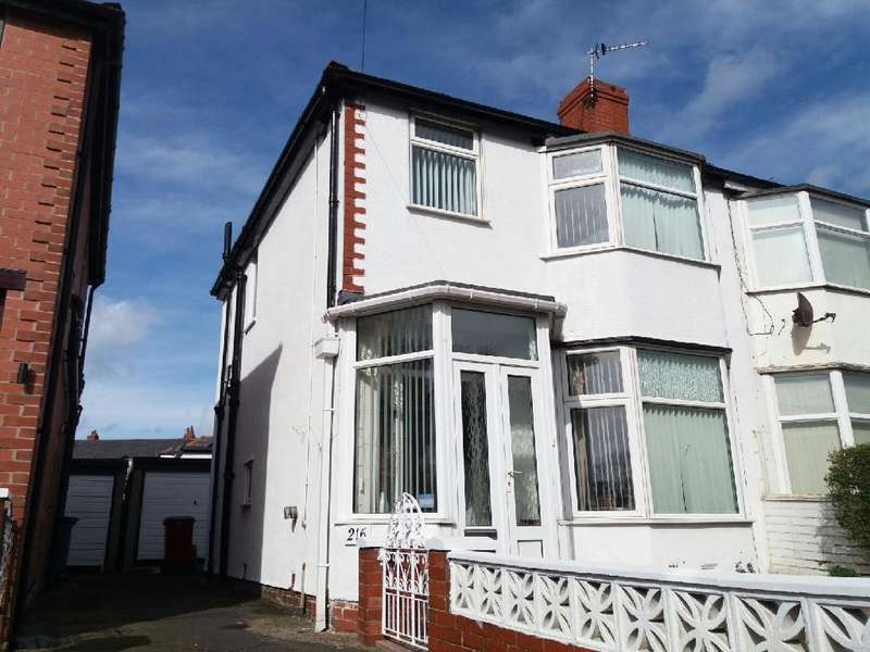 3 Bedrooms Property for sale in 216, Blackpool, FY3 9SG