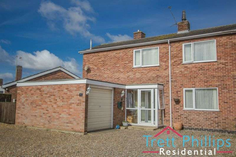 3 Bedrooms Semi Detached House for sale in Rivermead, Stalham