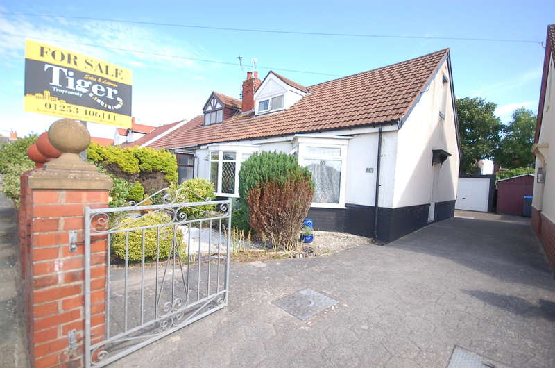 3 Bedrooms Semi Detached Bungalow for sale in Roseacre, Blackpool