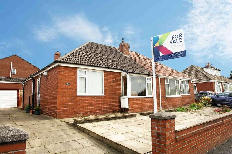 2 Bedrooms Semi Detached Bungalow for sale in 32 Cumberland Drive, Royton