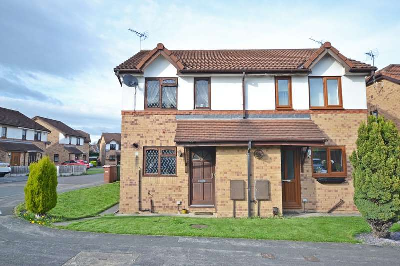 2 Bedrooms Semi Detached House for sale in Parkinson Close, Wakefield