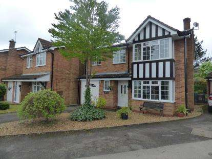 5 Bedrooms Detached House for sale in White Doe Drive, Moulton, Northampton, Northamptonshire