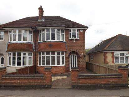 3 Bedrooms Semi Detached House for sale in Church Lane, Whitwick, Coalville