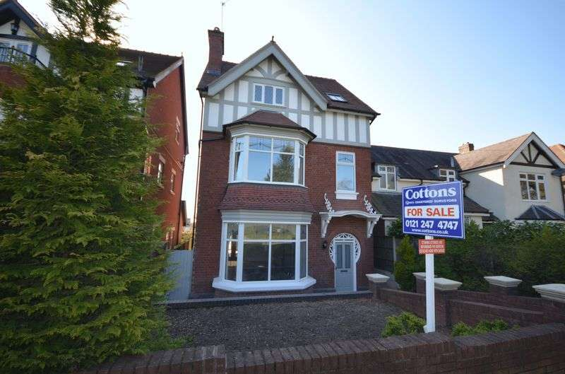 5 Bedrooms Detached House for sale in Harborne Road, Warley Woods