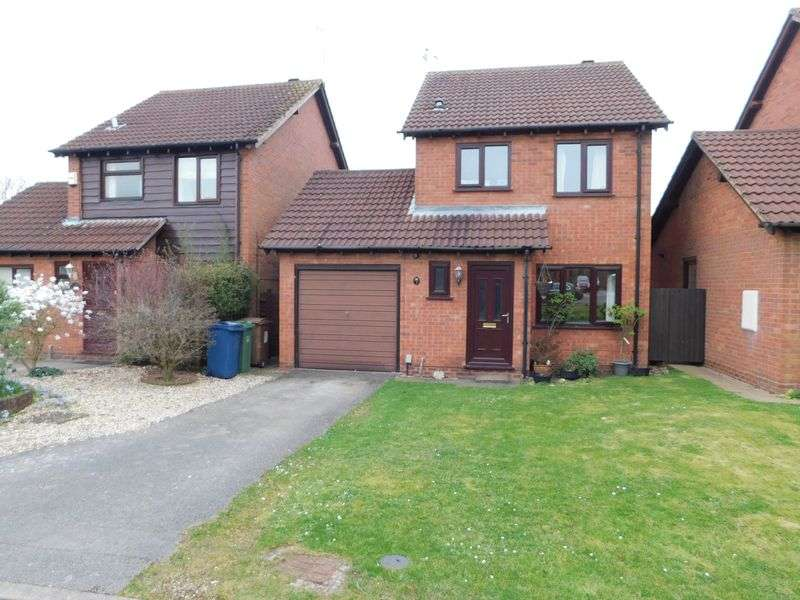 3 Bedrooms Detached House for sale in Furlong Close, Weston, Stafford