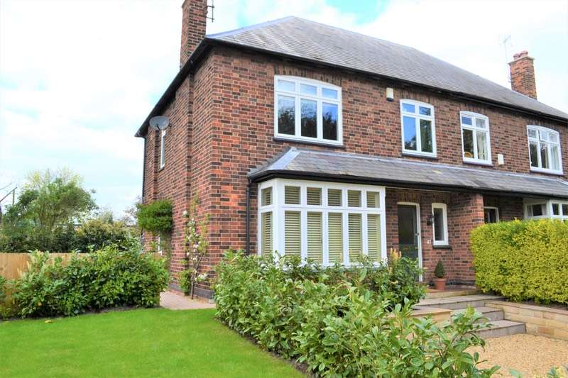 4 Bedrooms Semi Detached House for sale in Kneeton Road, Nottingham, Nottinghamshire, NG13