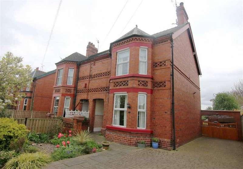 4 Bedrooms Semi Detached House for sale in Brown Heath Road, Waverton