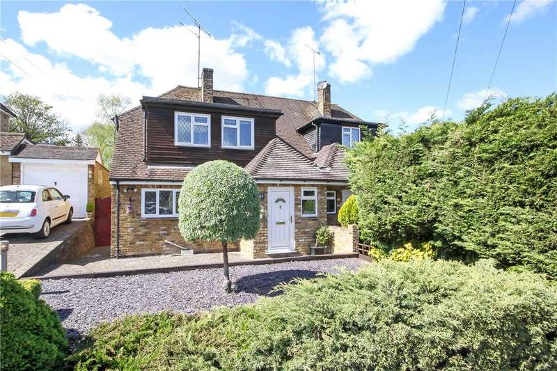 3 Bedrooms Semi Detached House for sale in Crabtree Lane, Harpenden, Hertfordshire