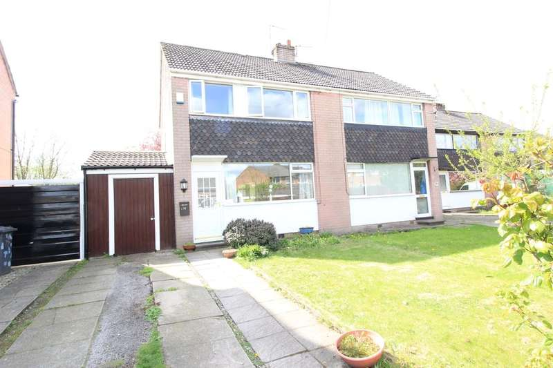 3 Bedrooms Semi Detached House for sale in Brook Drive, Astley,Tyldesley, Manchester, M29