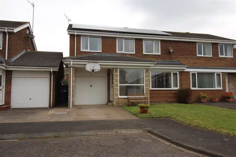 5 Bedrooms Semi Detached House for sale in Frome Place, Parkside Dale, Cramlington