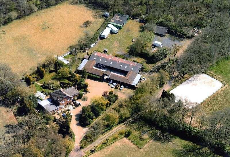 4 Bedrooms Detached House for sale in Partridge Lane, Rusper, Horsham, West Sussex