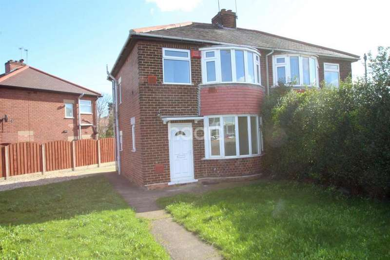 3 Bedrooms Semi Detached House for sale in Wheatley hall road
