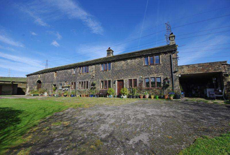 4 Bedrooms Farm House Character Property for sale in Parrock Nook Farm, Long Causeway, Rishworth, HX6 4RF