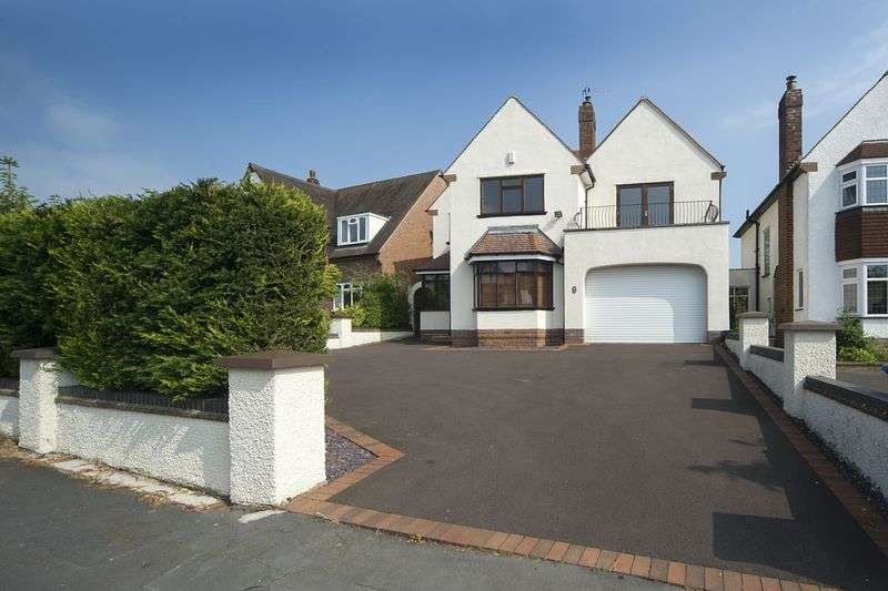 5 Bedrooms Detached House for sale in Springhill Park, Lower Penn, Wolverhampton