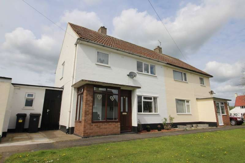 3 Bedrooms Semi Detached House for sale in Hadrians Gardens, Carlisle, CA3