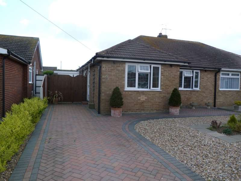 2 Bedrooms Semi Detached Bungalow for sale in Wallace Way, Broadstairs