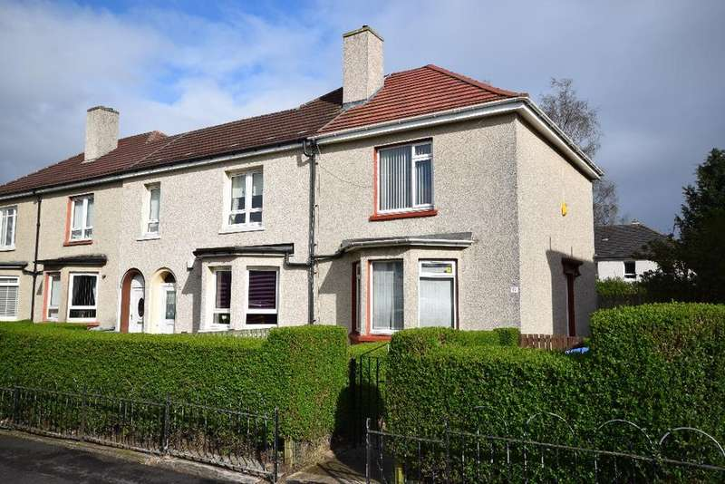2 Bedrooms End Of Terrace House for sale in Househillwood Road , Pollok , Glasgow, G53 6AX