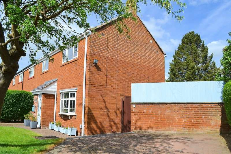 3 Bedrooms End Of Terrace House for sale in Dimbles Hill, Lichfield