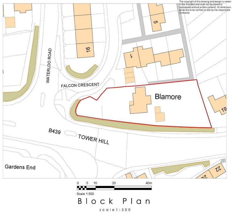 Land Commercial for sale in Falcon Crescent, Bidford-on-Avon