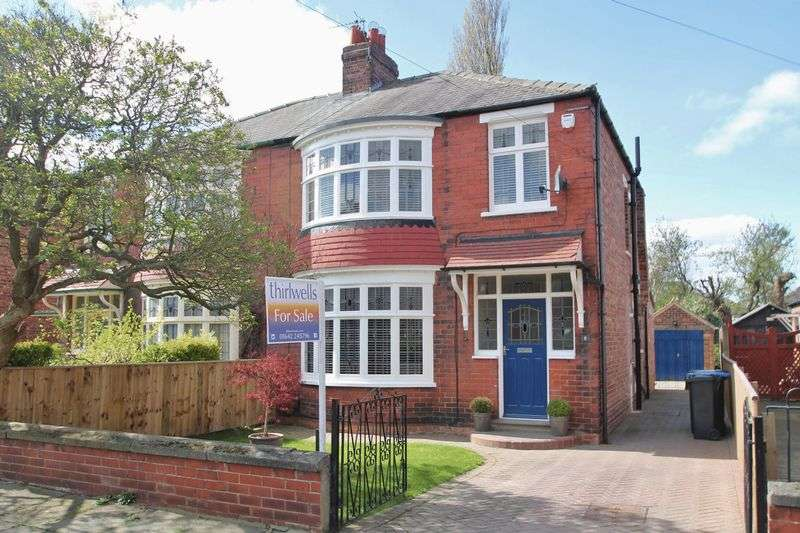 3 Bedrooms Semi Detached House for sale in Clepstone Avenue, Linthorpe