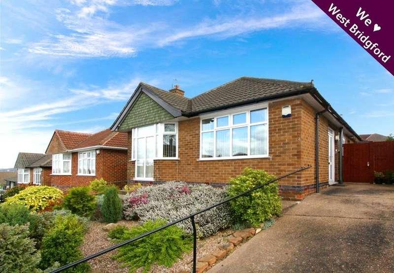 2 Bedrooms Detached Bungalow for sale in Halberton Drive, West Bridgford, Nottingham, NG2