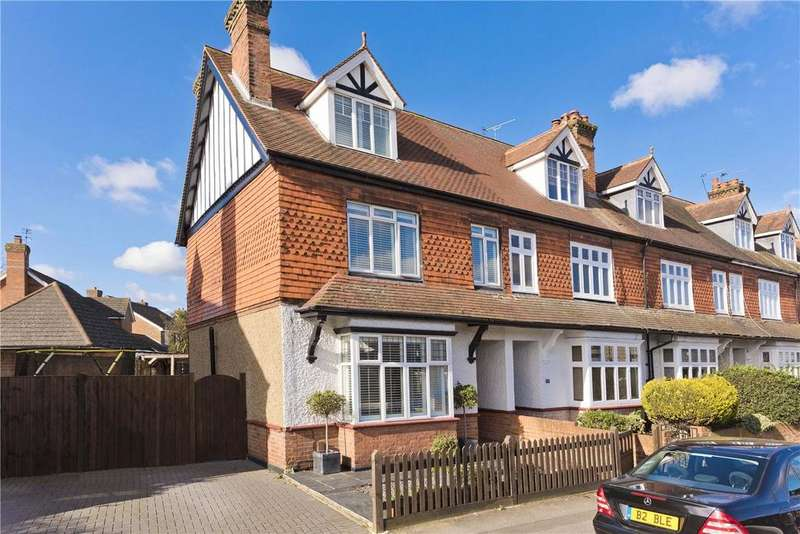 5 Bedrooms End Of Terrace House for sale in Thames Street, Weybridge, Surrey, KT13