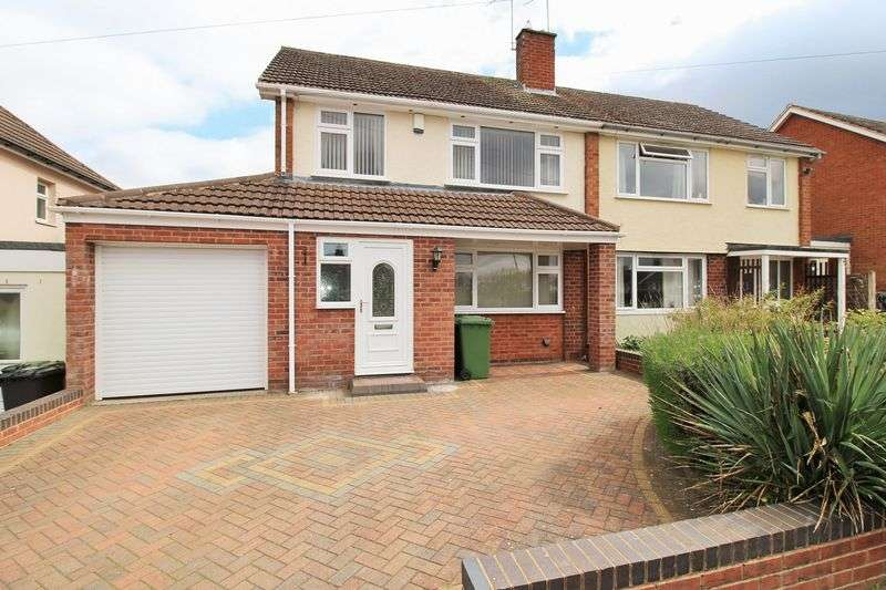 3 Bedrooms Semi Detached House for sale in Kimberlee Avenue, Cookley