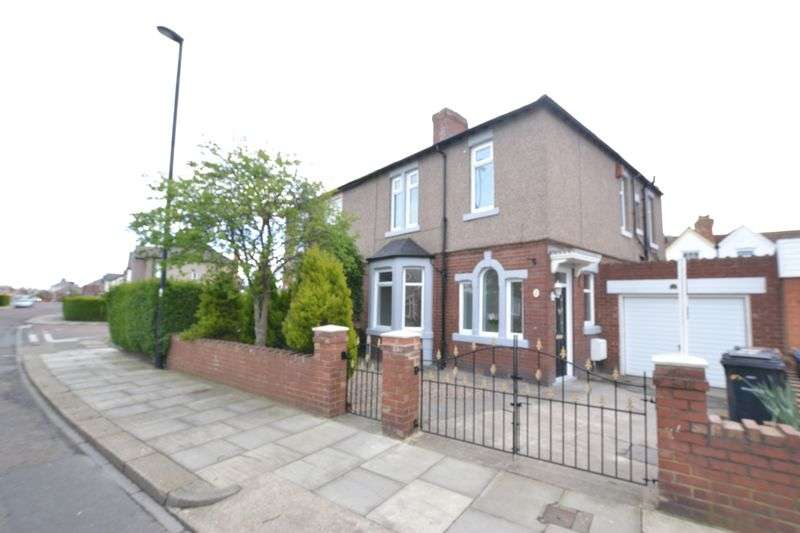 3 Bedrooms Semi Detached House for sale in Appletree Gardens, Newcastle Upon Tyne