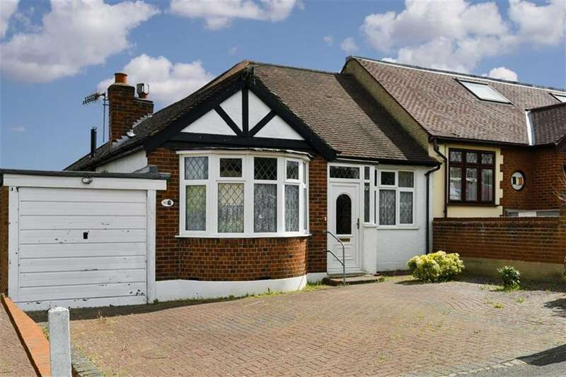 2 Bedrooms Semi Detached Bungalow for sale in St Clair Drive, Worcester Park, Surrey