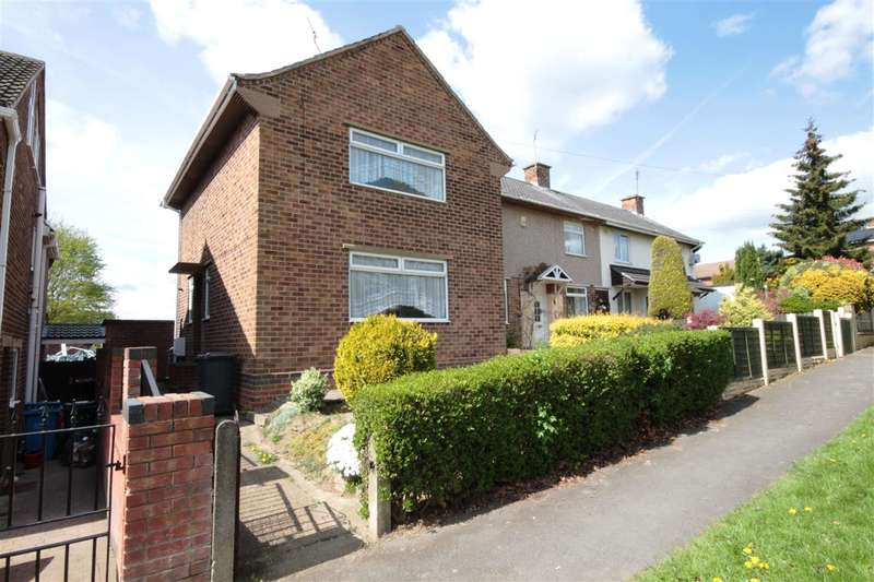 2 Bedrooms End Of Terrace House for sale in Depedale Avenue, Kirk Hallam
