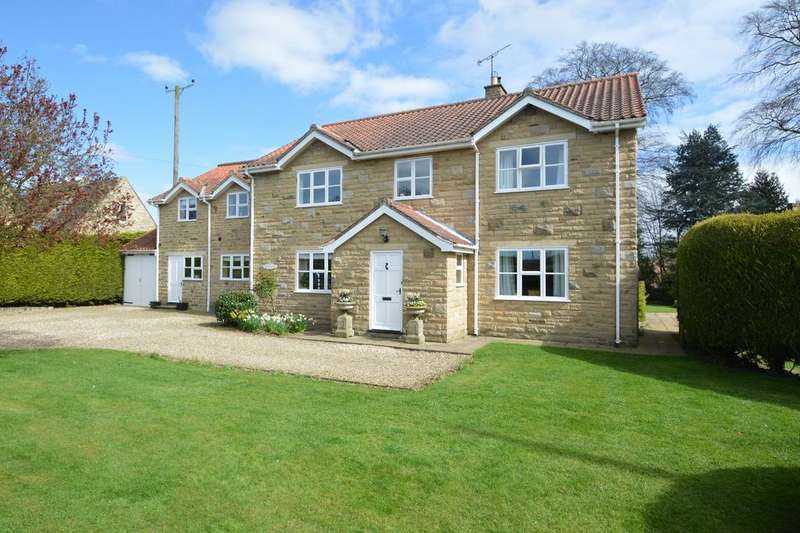 5 Bedrooms Detached House for sale in Whitwell on the Hill, York YO60