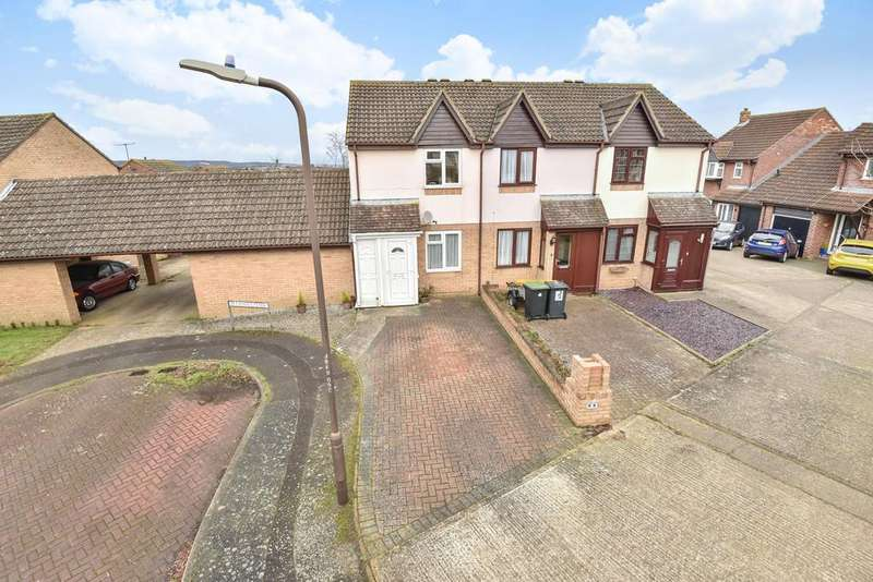 2 Bedrooms Semi Detached House for sale in Betjeman Close, Larkfield