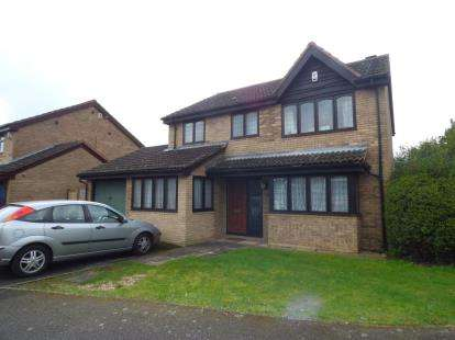 4 Bedrooms Detached House for sale in Flora Thompson Drive, Newport Pagnell, Milton Keynes, Bucks