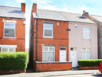 2 Bedrooms Semi Detached House for sale in Henry Street, Grassmoor, Chesterfield, Derbyshire
