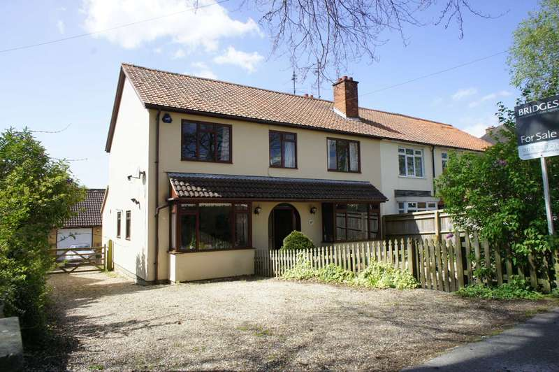 4 Bedrooms Semi Detached House for sale in Kidmore Road, Caversham Heights