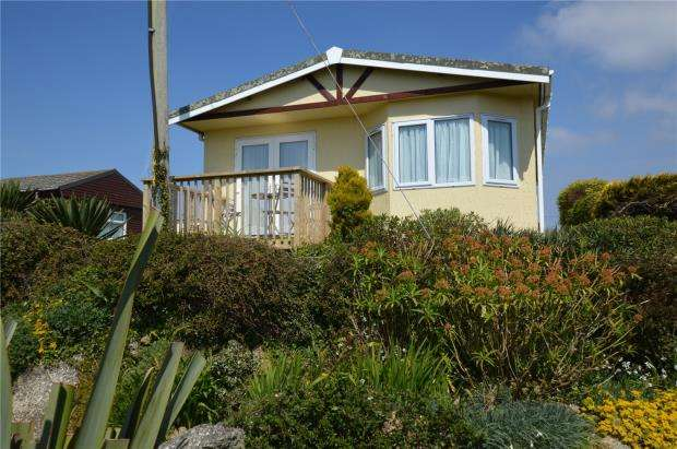 2 Bedrooms Detached Bungalow for sale in St Martins Lodge, Sea View Holiday Park, Sennen, Penzance