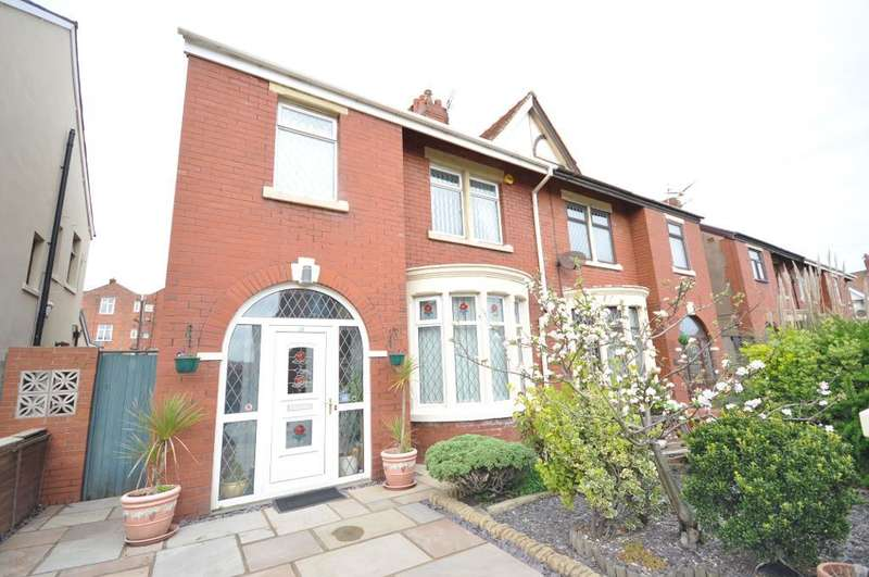 3 Bedrooms Semi Detached House for sale in Beaufort Avenue, Bispham, Blackpool, Lancashire, FY2 9HQ
