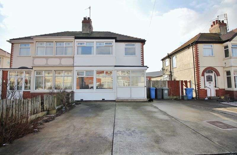 3 Bedrooms Semi Detached House for sale in 26 Westmorland Avenue, Thornton-Cleveleys Lancs FY5 2LX