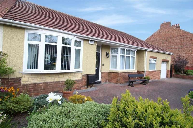 3 Bedrooms Semi Detached Bungalow for sale in Sandringham Avenue, Newcastle Upon Tyne