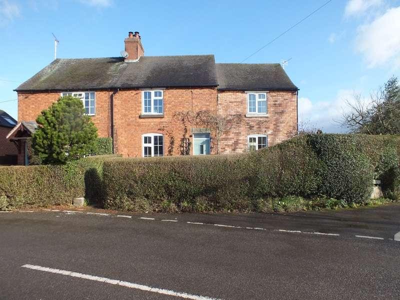 3 Bedrooms Semi Detached House for sale in alms road, doveridge, Derbyshire, DE6