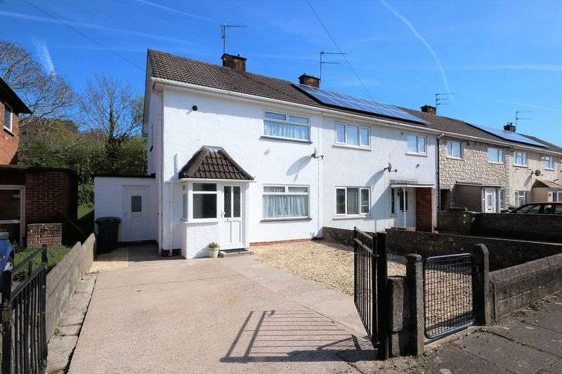 2 Bedrooms Semi Detached House for sale in Keyston Road, Cardiff