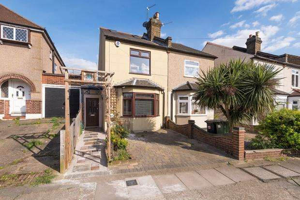 3 Bedrooms Semi Detached House for sale in Alers Road, South Bexleyheath, DA6
