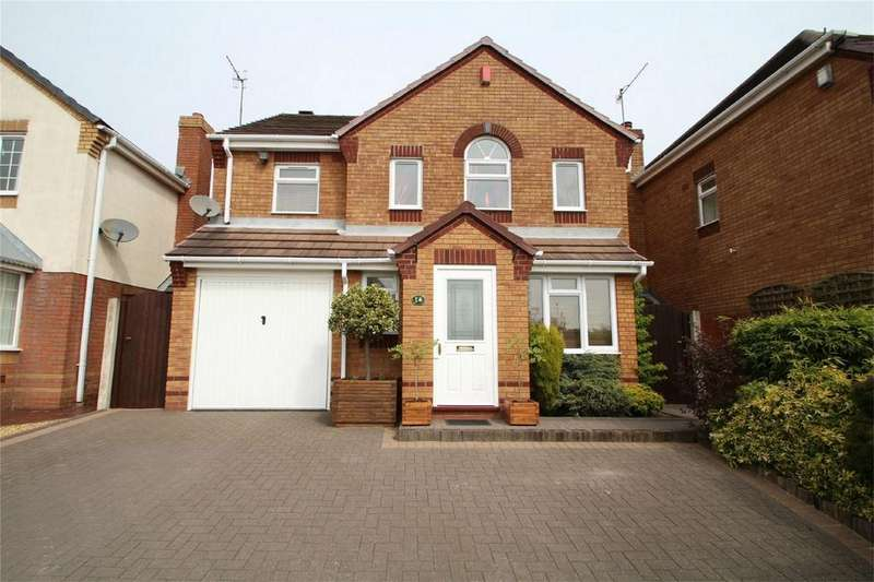 4 Bedrooms Detached House for sale in Berkswell Close, The Broadlands, DUDLEY, West Midlands
