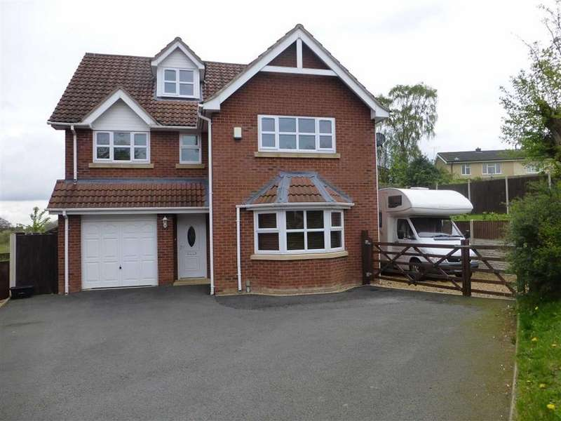 5 Bedrooms Detached House for sale in Lakefield Court, Gwersyllt, Wrexham