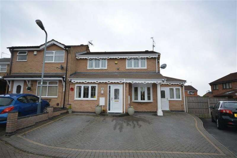 4 Bedrooms Semi Detached House for sale in Ascot Close, Bedworth