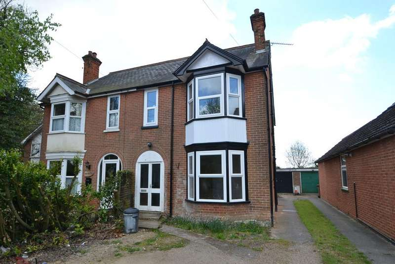 4 Bedrooms Semi Detached House for sale in Felixstowe Road, Nacton, Ipswich, Suffolk